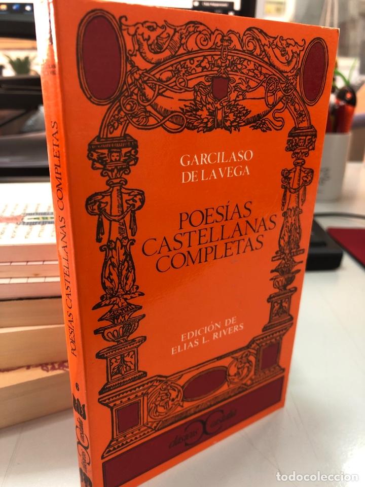 GARCILASO DE LA VEGA POESÍAS CASTELLANAS COMPLETAS (Libros Nuevos - Literatura - Poesía)
