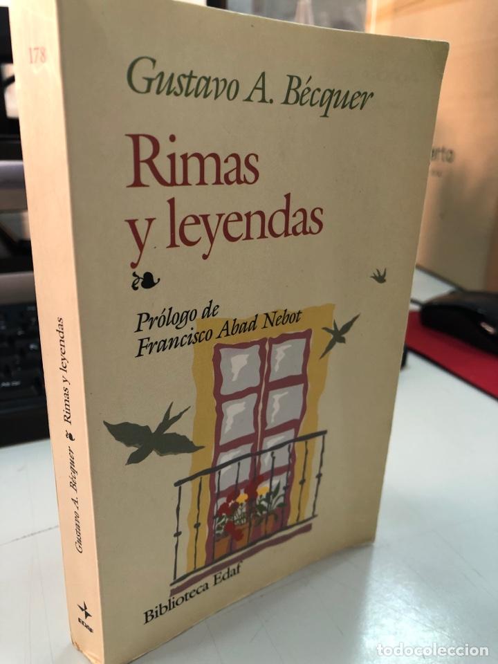 EDAF - RIMAS Y LEYENDAS GUSTAVO ADOLFO BÉCQUER (Libros Nuevos - Literatura - Poesía)