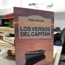 Livros: PABLO NERUDA LOS VERSOS DEL CAPITÁN. Lote 281870238