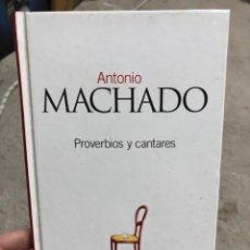 Libros: ANTONIO MACHADO: PROVERBIOS Y CANTARES. Lote 286841803