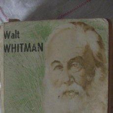 Libros: HOJAS DE HIERBA. WHITMAN, WALT. NOVARO, 1977. Lote 287600408