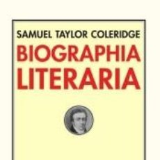 Libros: BIOGRAPHIA LITERARIA. Lote 287770743