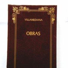 Libros: VILLAMEDIANA: OBRAS - BIBLIOTECA CLÁSICA CASTALIA - NUEVO. Lote 288067463
