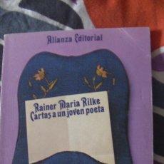 Libros: CARTAS A UN JOVEN POETA RILKE RAINER MARIA. ALIANZA, 1987. Lote 289478643