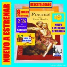 Libros: POEMAS - TOMÁS MORALES - POESÍA CANARIA - INTERSEPTEM - DESCATALOGADO - NUEVO - 9 € FINAL. Lote 293693058