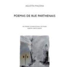 Libros: POEMAS DE RUE PARTHENAIS. Lote 293735963