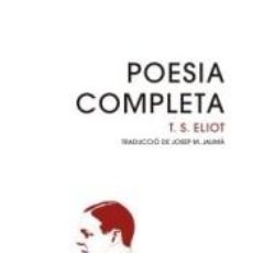 Libros: POESIA COMPLETA. Lote 294936203