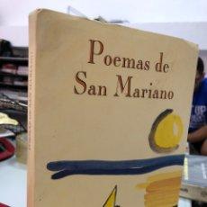 Libros: JESUS PEREZ - POEMAS DE SAN MARIANO - FIRMADO POR EL AUTOR. Lote 296615438