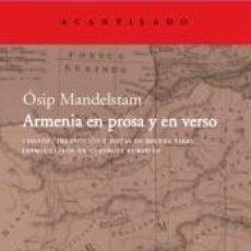 Libros: ARMENIA EN VERSO Y PROSA AC.235. Lote 296620548