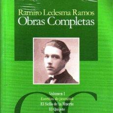 Libros: OBRAS COMPLETAS DE RAMIRO LEDESMA RAMOS 4 VOLUMENES GASTOS DE ENVIO GRATIS FALANGE. Lote 198526007