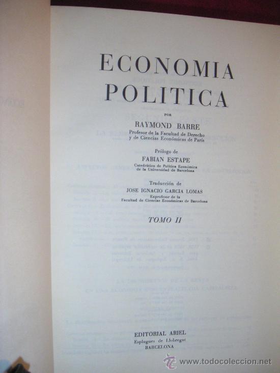 Libros: ECONOMÍA POLÍTICA - Foto 2 - 26732135