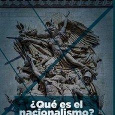 Libros: QUE ES EL NACIONALISMO? DOMINIQUE VENNER GASTOS DE ENVIO GRATIS NACIONALISMO. Lote 47359029