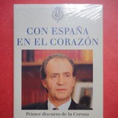 Libros: CON ESPAÑA EN EL CORAZÓN. SIN ABRIR.. Lote 48500908