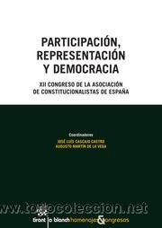 POLÍTICA. PARTICIPACIÓN, REPRESENTACIÓN Y DEMOCRACIA - JOSÉ LUIS CASCAJO/AUGUSTO MARTÍN (Libros Nuevos - Humanidades - Política)
