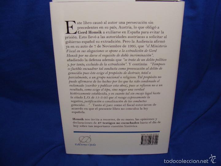 Libros: ¿ABSOLUCIÓN PARA HITLER? GERD HONSIK, 25 EUROS NUEVO, 50 EUROS CON AUTÓGRAFO DE GERD HONSIK. - Foto 2 - 236287400