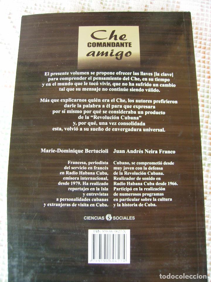 Libros: **LIBRO,----CHE COMANDANTE AMIGO----23 x 15 x 2 cm) 330BPAG. - Foto 2 - 83655392