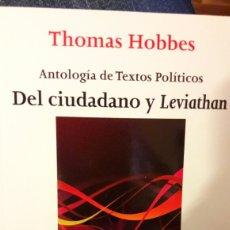 Libros: LIBRO ANTOLOGÍA DE TEXTOS POLITICOS. Lote 88779407