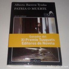 Libros: PATRIA O MUERTE POR ALBERTO BARRERA TYSZKA . Lote 98693775
