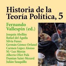 Libros: HISTORIA DE LA TEORÍA POLÍTICA, 5 ED. ALIANZA. Lote 103765767