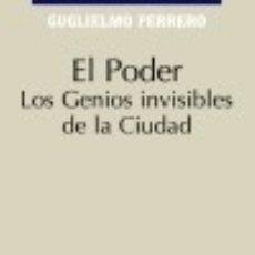 Libros: EL PODER. Lote 82317588