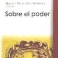 Libros: SOBRE EL PODER. Lote 70871243