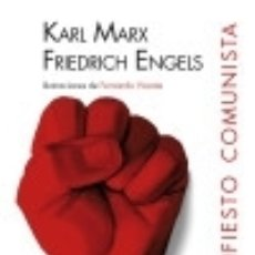 Libros: MANIFIESTO COMUNISTA, EL NÓRDICA LIBROS. Lote 70960725