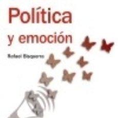 Libros: POLÍTICA Y EMOCIÓN. Lote 75527733
