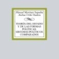 Libros: TEORÍA DEL ESTADO Y DE LAS FORMAS POLÍTICAS:SISTEMAS POLÍTICOS COMPARADOS. Lote 132564390
