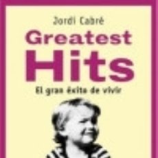 Libros: GREATEST HITS. Lote 140726125