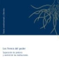Libros: LOS FRENOS DEL PODER. Lote 142384166