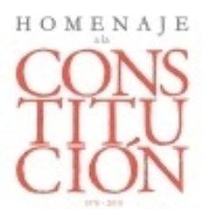 Libros: HOMENAJE A LA CONSTITUCIÓN. Lote 142384756