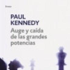 Libros: AUGE Y CAIDA DE LAS G.POTENCIAS(CAMB.POR. Lote 142386852
