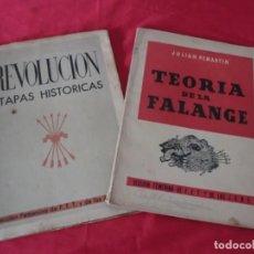 Libros: PAREJA DE LIBROS POLITICOS. Lote 142483994