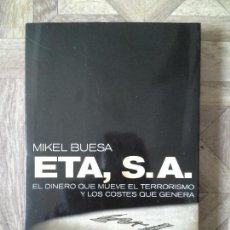 Libros: MIKEL BUESA - ETA S.A.. Lote 143127354