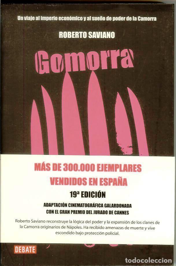 GOMORRA. EL IMPERIO ECONÓMICO Y EL PODER DE LA CAMORRA DE ROBERTO SAVIANO (Libros Nuevos - Humanidades - Política)