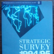 Libros: STRATEGIC SURVEY 1994/95. PUBLISHED BY OXFORD UNIVERSITY PRESS. Lote 147683574
