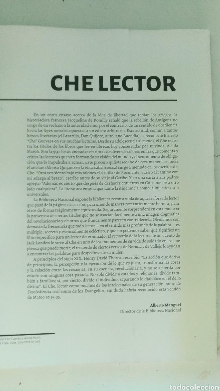 Libros: CHE LECTOR (CHE GUEVARA) BIBLIOTECA NACIONAL - ARGENTINA - 2017 - PARA COLECCIONISTAS - Foto 3 - 157936749