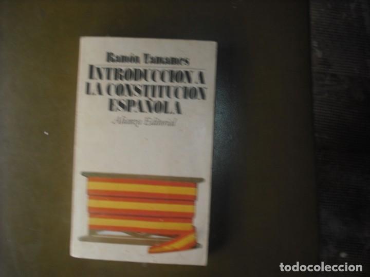 INTRODUCCIÓN A LA CONSTITUCIÓN ESPAÑOLA (Libros Nuevos - Humanidades - Política)