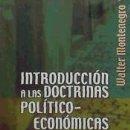 Libros: INTRODUCCIÓN A LAS DOCTRINAS POLÍTICO-ECONÓMICAS. Lote 160801721