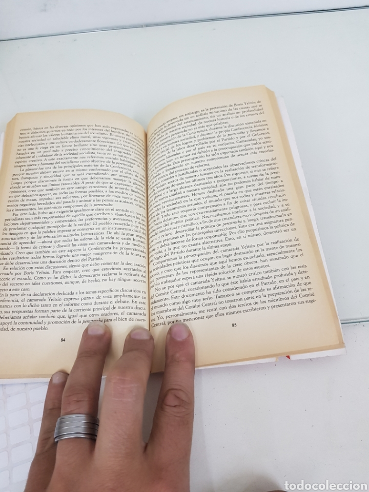 Libros: Libro yo Mijail Gorbachov perestroika mi mensaje al mundo segunda parte de la colección el periódico - Foto 3 - 166409896