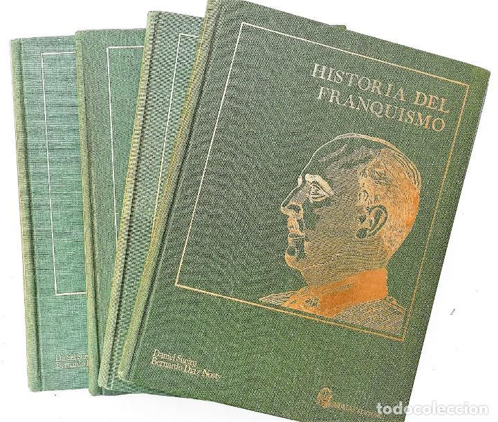 HISTORIA DEL FRANQUISMO - DANIEL SUEIRO Y BERNARDO DIAZ 4 TOMOS OBRA COMPLETA (Libros Nuevos - Humanidades - Política)