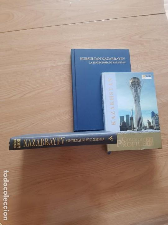 LOTE 3 LIBROS SOBRE KAZAJISTÁN (Libros Nuevos - Humanidades - Política)