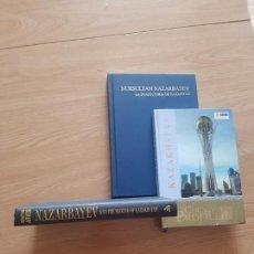 Libros: LOTE 3 LIBROS SOBRE KAZAJISTÁN. Lote 170974547