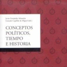 Libros: CONCEPTOS POLÍTICOS, TIEMPO E HISTORIA. Lote 178655611