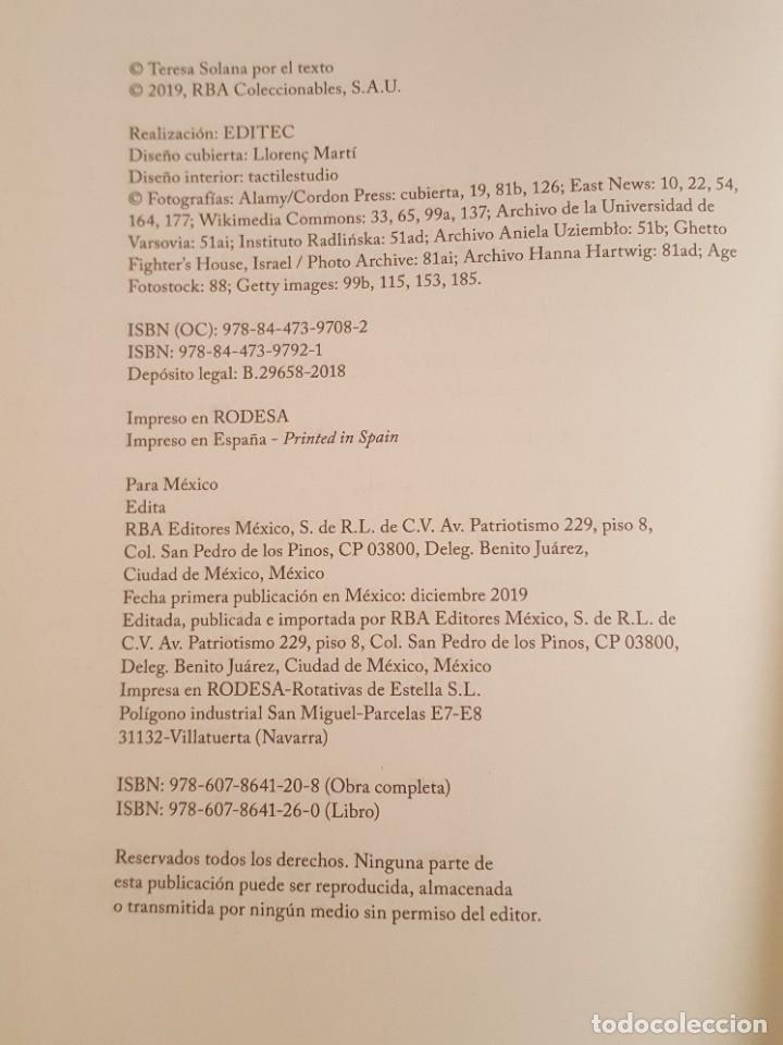 Libros: LIBRO / IRENA SENDLER, RBA 2019 - Foto 3 - 179207527