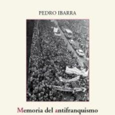 Libros: MEMORIA DEL ANTIFRANQUISMO EN EL PAIS VASCO. Lote 180090511