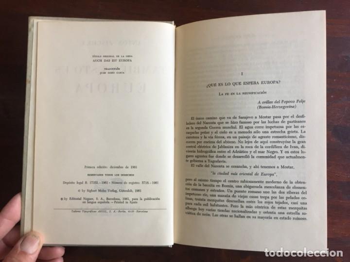 Libros: También esto es Europa. De Antón Zischka.1961 Con 12 capitulos sobre el comunismo en la vieja Europa - Foto 2 - 181509373