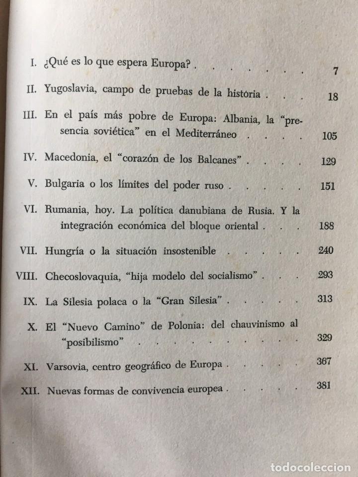Libros: También esto es Europa. De Antón Zischka.1961 Con 12 capitulos sobre el comunismo en la vieja Europa - Foto 13 - 181509373