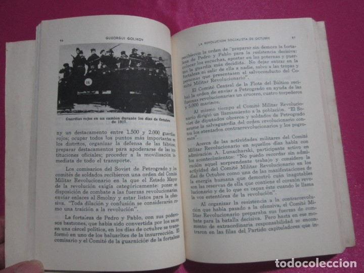 Libros: LA REVOLUCION SOCIALISTA DE OCTUBRE GOLIKOV 1963 - Foto 3 - 182427908