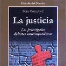 Libros: LA JUSTICIA. Lote 192997895